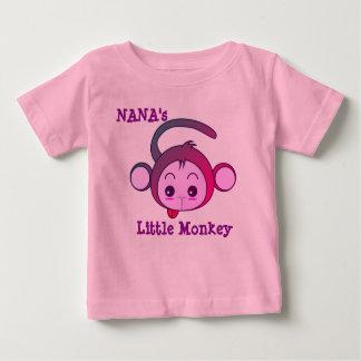 Camiseta De Bebé El pequeño mono de Nana