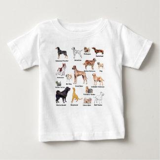 Camiseta De Bebé El perro mecanografía la ropa del niño
