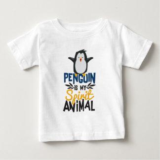 Camiseta De Bebé El pingüino lindo es mi estampado de animales del