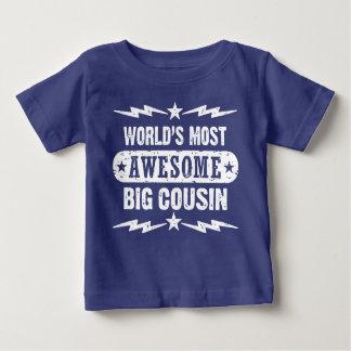 Camiseta De Bebé El primo grande más impresionante del mundo