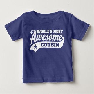 Camiseta De Bebé El primo más impresionante del mundo