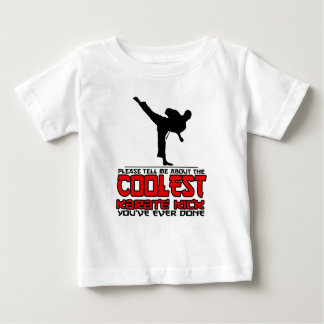 Camiseta De Bebé El retroceso más fresco del karate