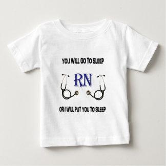 Camiseta De Bebé El RN va a dormir