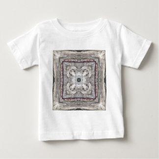 Camiseta De Bebé El rosa bonito teñió el modelo inspirado Azteca