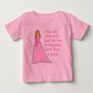 Camiseta De Bebé El rosa está para los productos del cáncer de las