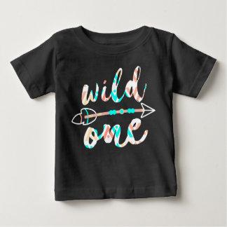 Camiseta De Bebé El salvaje y flecha el | Boho el | un año