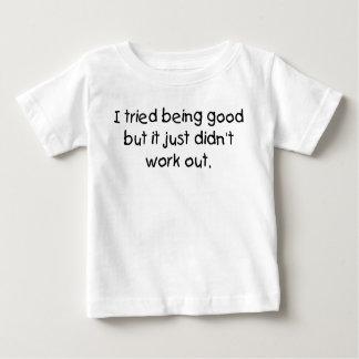 Camiseta De Bebé El ser probado bueno