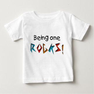 Camiseta De Bebé ¡El ser uno oscila!
