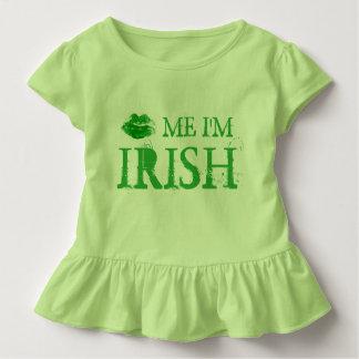 Camiseta De Bebé El St. Patty me besa que soy labios verdes