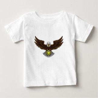 Camiseta De Bebé El tenis de Eagle se divierte la mascota