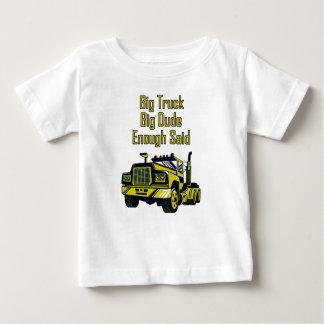 Camiseta De Bebé El tipo grande del camión grande bastante dijo