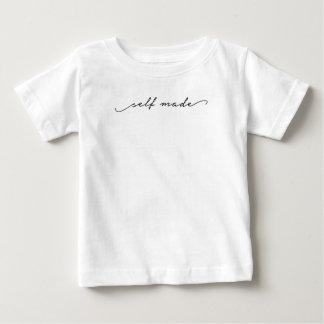 Camiseta De Bebé El uno mismo hizo chica la escritura escrita