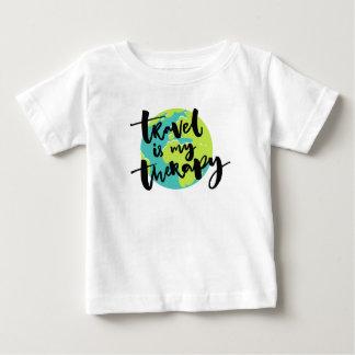 Camiseta De Bebé El viaje es mi terapia