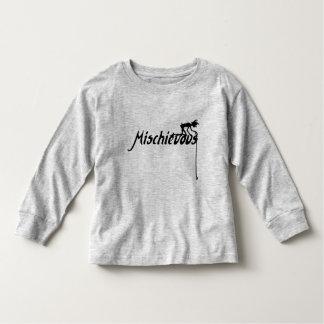 Camiseta De Bebé El vintage dañoso inspiró el duende difícil
