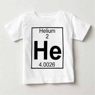 Camiseta De Bebé Elemento 002 - Él - helio (lleno)