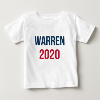 Camiseta De Bebé Elizabeth Warren para el presidente 2020