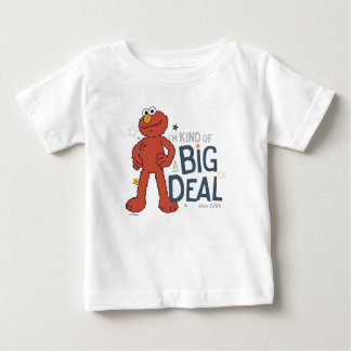 Camiseta De Bebé Elmo el   soy un poco una gran cosa