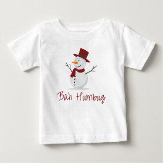 Camiseta De Bebé Embaucamiento de Bah - muñeco de nieve dañoso -
