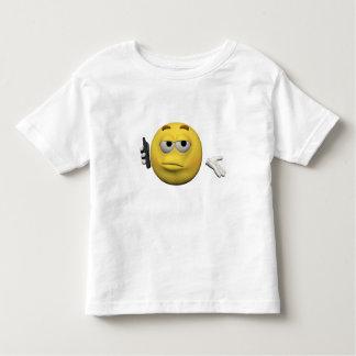 Camiseta De Bebé Emoticon del teléfono