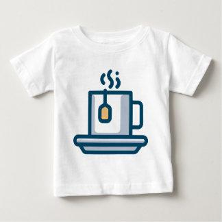 Camiseta De Bebé Empapamiento de té