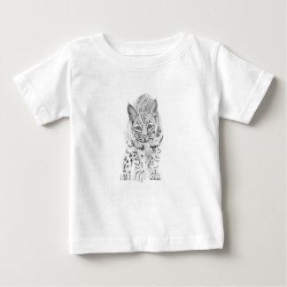 Camiseta De Bebé En el vagabundeo un lince joven