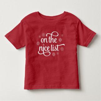 Camiseta De Bebé En Niza el navidad de la lista el |