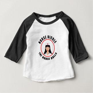 Camiseta De Bebé Enfermera de Nicole