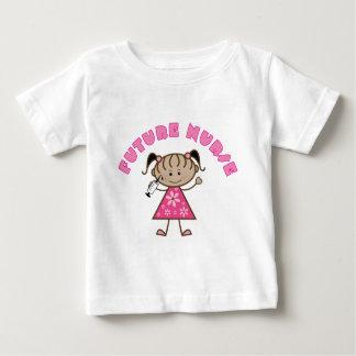 Camiseta De Bebé Enfermera futura linda