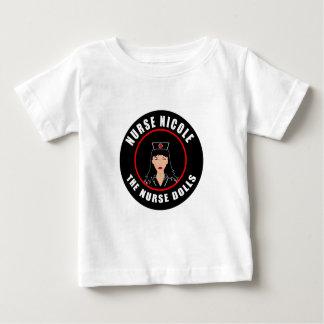 Camiseta De Bebé Enfermera Nicole