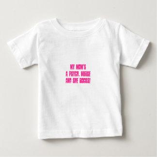 Camiseta De Bebé Enfermeras psiquiátricas