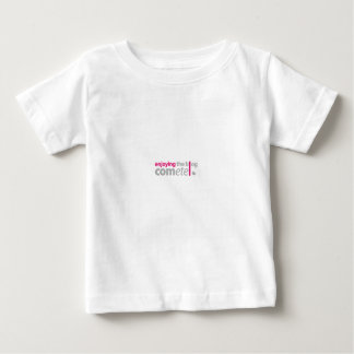 Camiseta De Bebé Enjoying the blog Cómete el punto