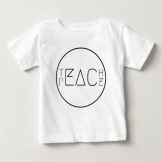 Camiseta De Bebé Enseñe a la paz