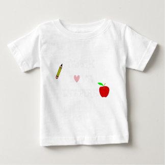 Camiseta De Bebé enseñe al amor inspire2