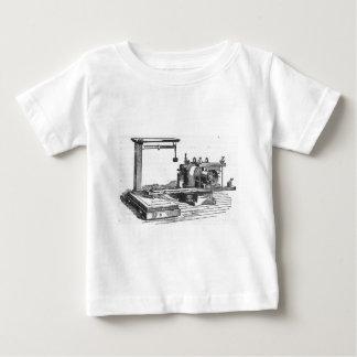 Camiseta De Bebé Ephemeras antiguas del vintage de la herramienta