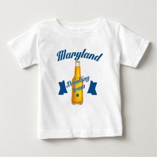 Camiseta De Bebé Equipo de consumición de Maryland