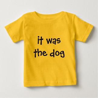 Camiseta De Bebé era el perro