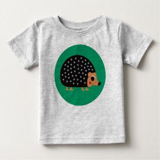 Camiseta De Bebé Erizo bonito