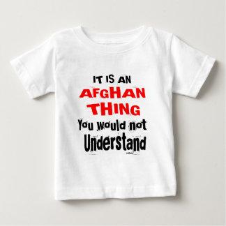 Camiseta De Bebé Es diseños AFGANOS de la cosa