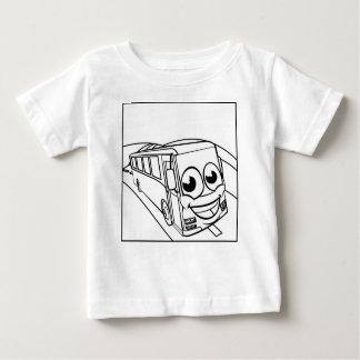 Camiseta De Bebé Escena de la mascota del personaje de dibujos