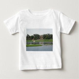 Camiseta De Bebé Escena del Nilo del río