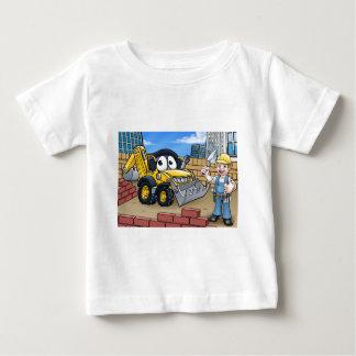 Camiseta De Bebé Escena del solar de la construcción