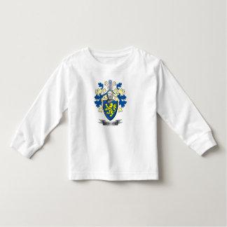 Camiseta De Bebé Escudo de armas del escudo de la familia de