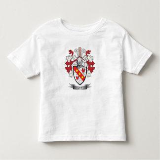 Camiseta De Bebé Escudo de armas del escudo de la familia de la ley