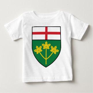 Camiseta De Bebé Escudo de Ontario