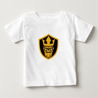Camiseta De Bebé Escudo del frente del cráneo de Neptuno