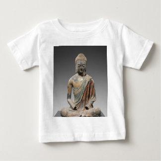Camiseta De Bebé Escultura decolorada de Buda - dinastía Tang (618)