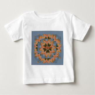 Camiseta De Bebé Espacio en blanco colorido africano asombroso