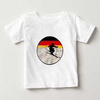 Camiseta De Bebé Esquí Alemania