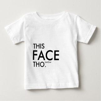Camiseta De Bebé Esta cara Tho - MzSandino