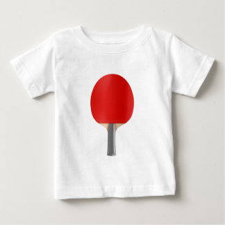 Camiseta De Bebé Estafa de tenis de mesa